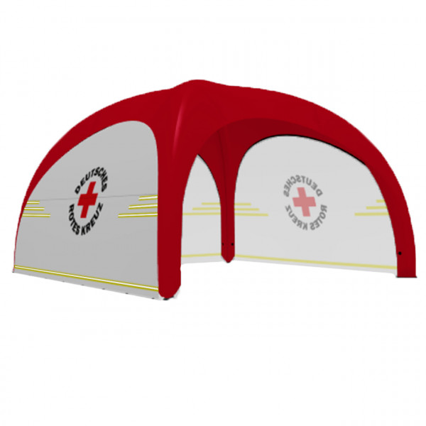 XD 5 inflatable tent- red cross